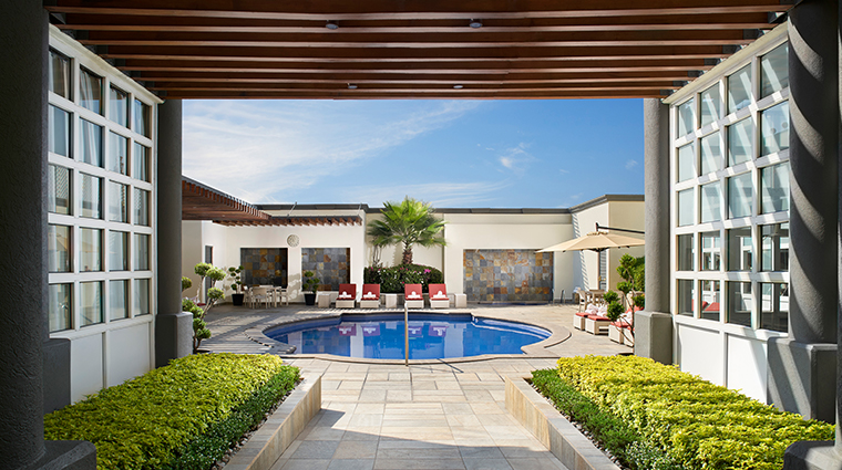 four seasons hotel mexico city spa pool