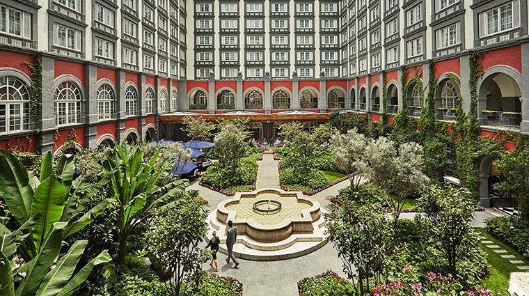 four seasons hotel mexico df courtyard