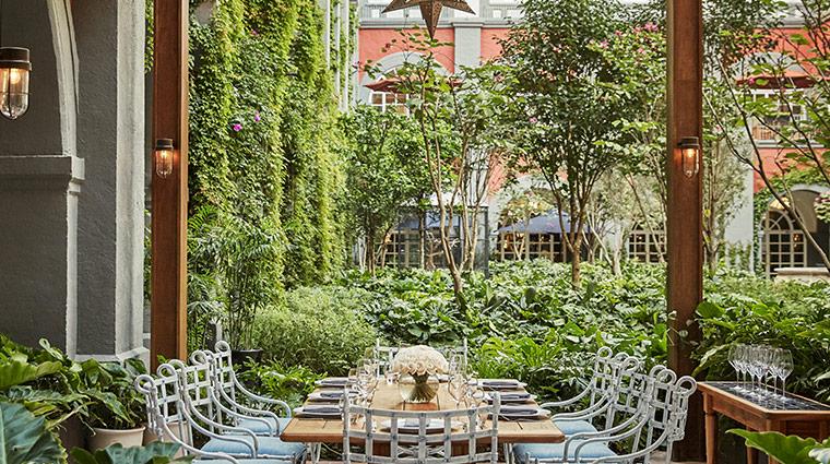 four seasons hotel mexico df zanaya patio