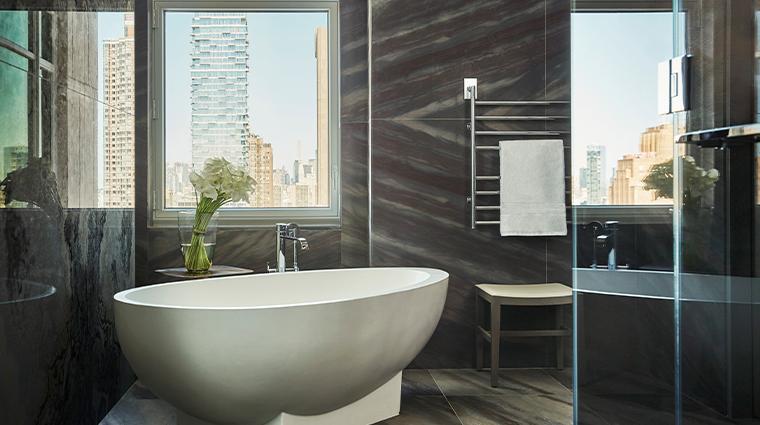 four seasons hotel new york downtown empire suite bath