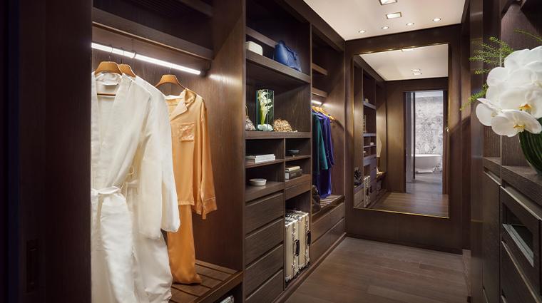 four seasons hotel new york downtown empire suite closet