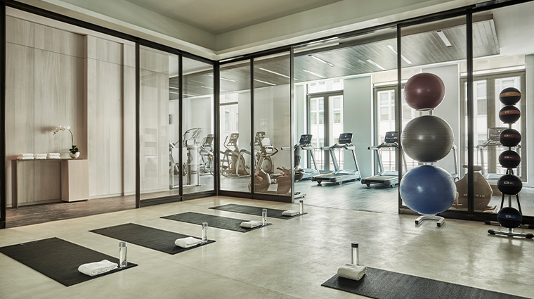 four seasons hotel new york downtown fitness center