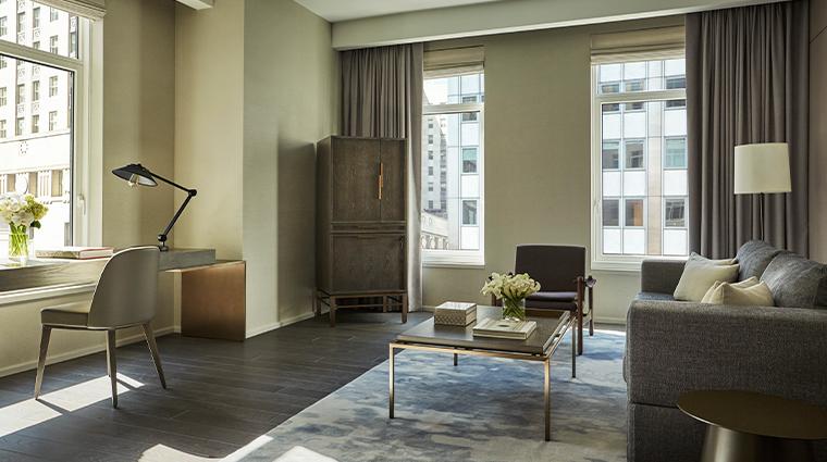 four seasons hotel new york downtown gotham suite