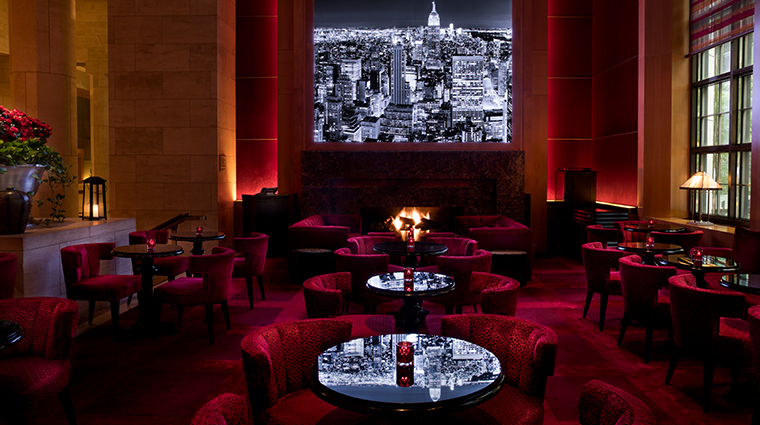 four seasons hotel new york Ty bar