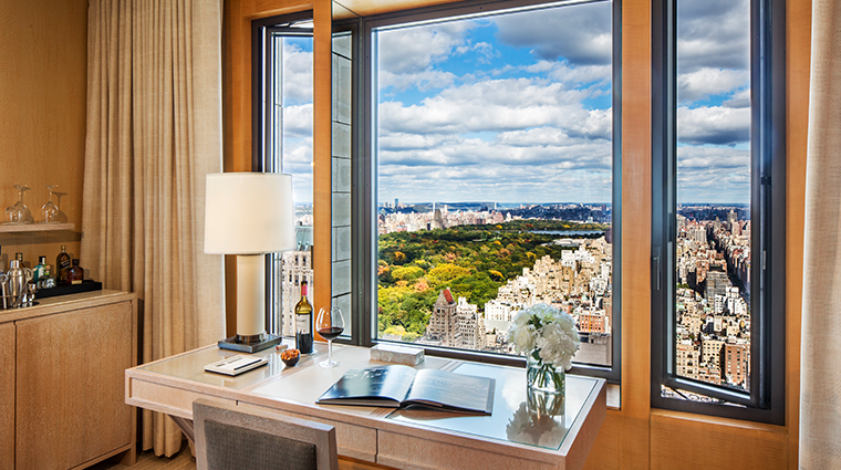 four seasons hotel new york central park view