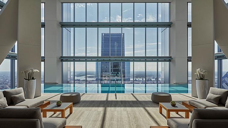 four seasons hotel philadelphia at comcast center indoor pool