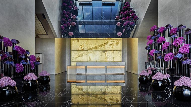four seasons hotel philadelphia at comcast center reception