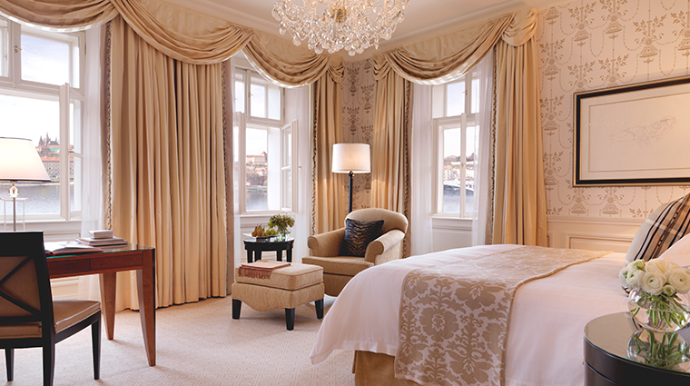 four seasons hotel prague premier river room neoclassical