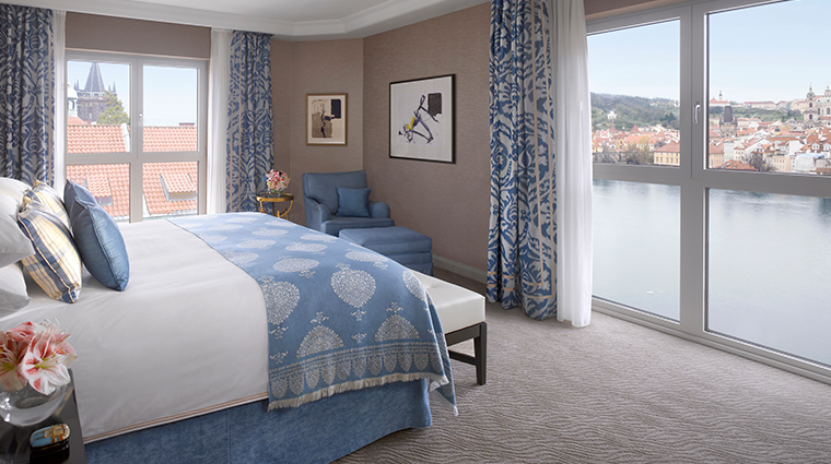 four seasons hotel prague premier suite bedroom modern