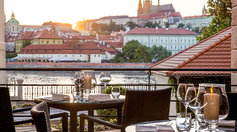 four seasons hotel prague terrace