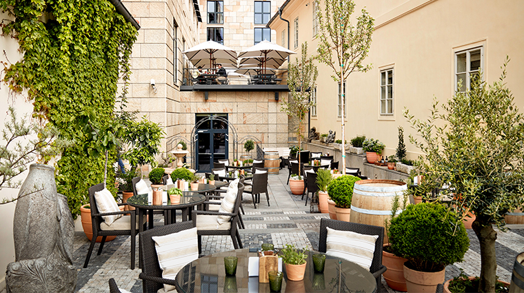four seasons hotel prague piazzetta pop up