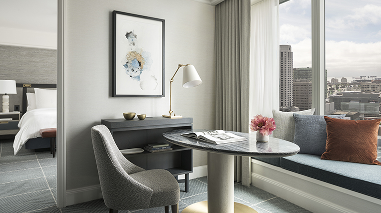 four seasons hotel san francisco executive suite desk