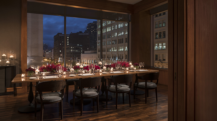 four seasons hotel san francisco mkt private dining room