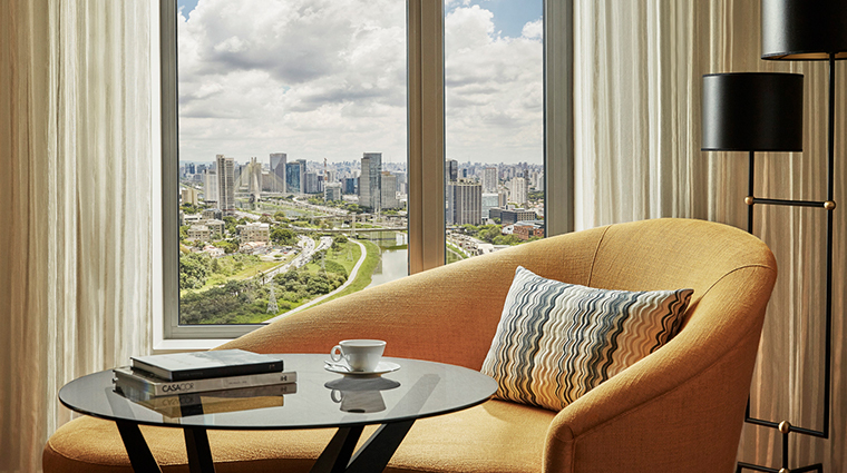 four seasons hotel sao paulo at nacoes unidas guestroom view