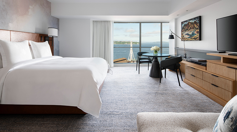 four seasons hotel seattle deluxe bay room