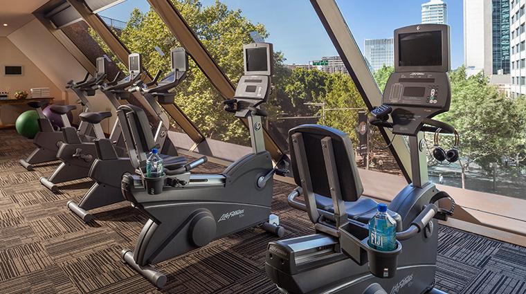 four seasons hotel sydney fitness center