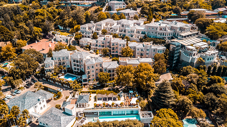 four seasons hotel the westcliff johannesburg aerial
