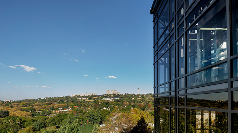 four seasons hotel the westcliff johannesburg flames lift