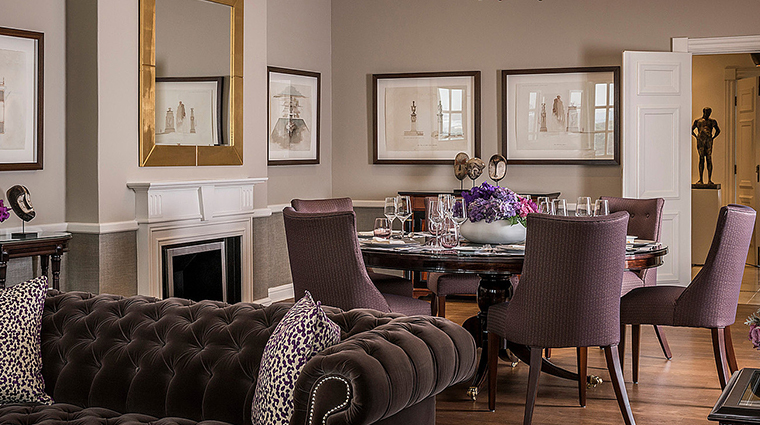 four seasons hotel the westcliff johannesburg presidential suite dining room