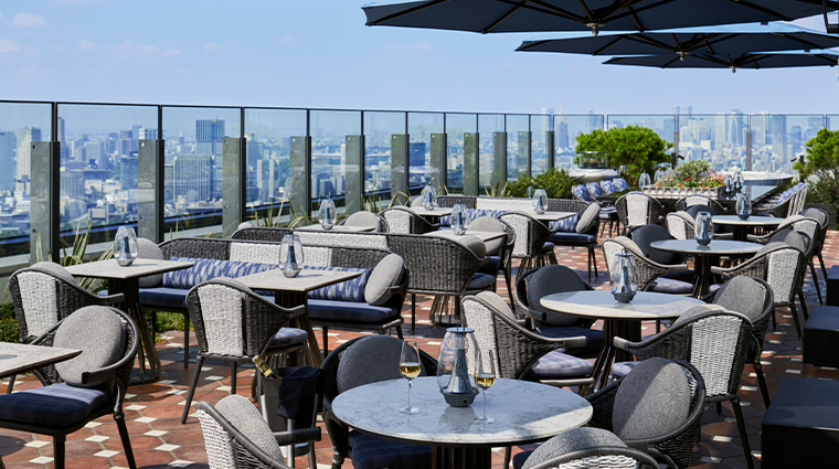 four seasons hotel tokyo at otemachi rooftop day