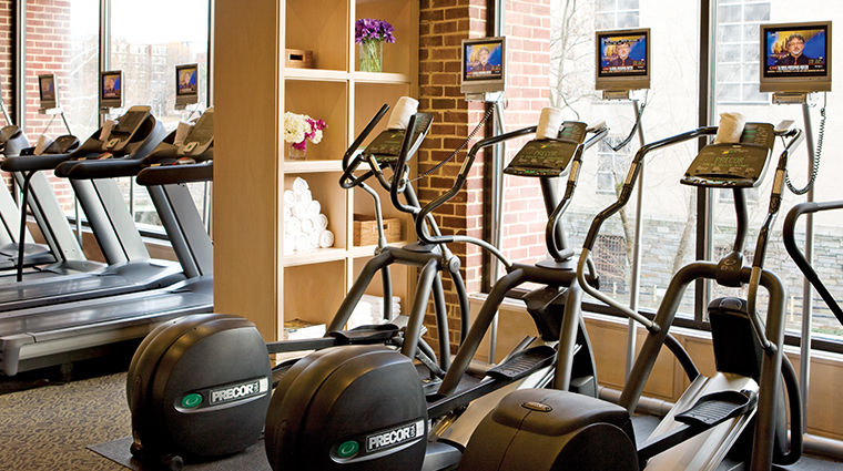 four seasons hotel washington dc fitness center