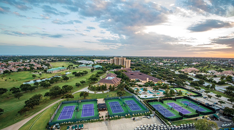 four seasons resort and club dallas at las colinas aerial 1