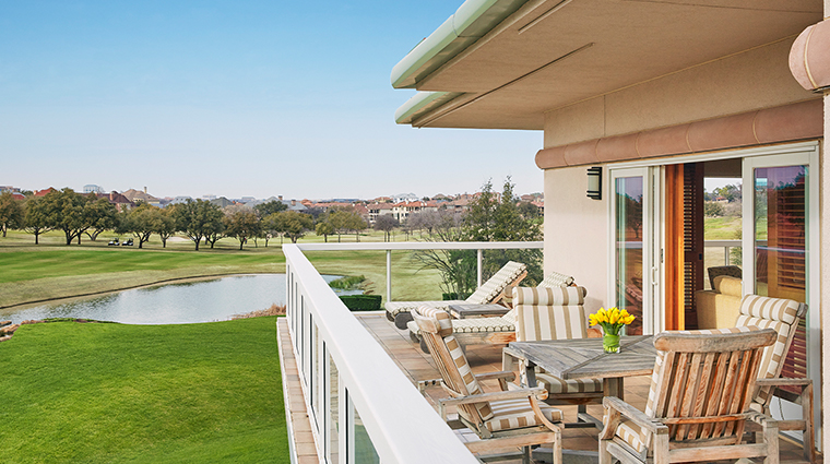 four seasons resort and club dallas at las colinas balcony
