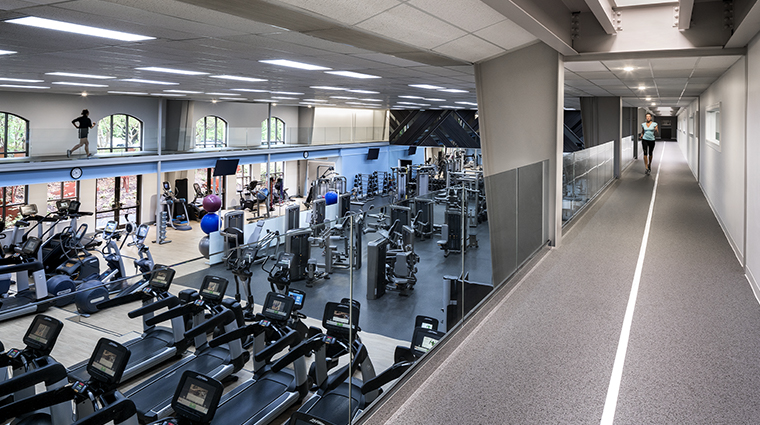 four seasons resort and club dallas at las colinas gym