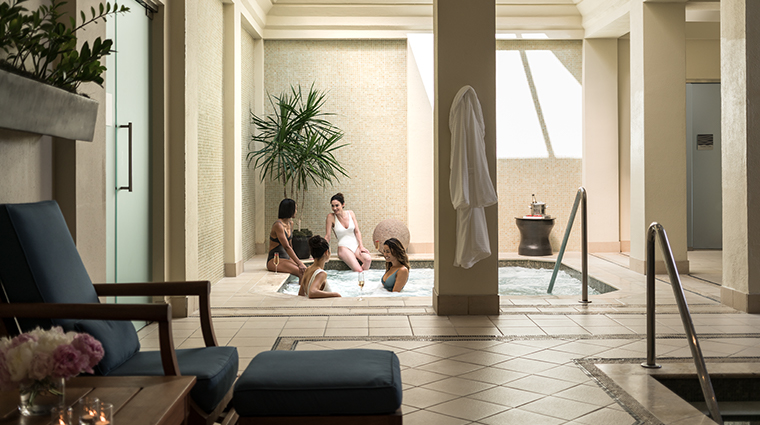 four seasons resort and club dallas at las colinas spa whirlpool