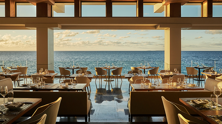 four seasons resort and residences anguilla restaurant view