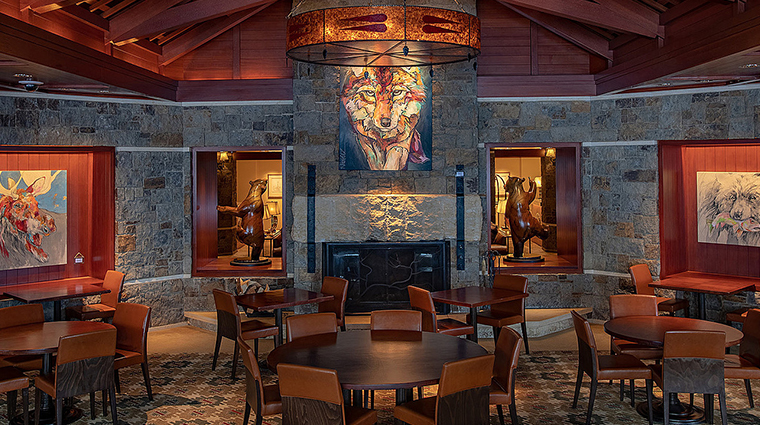four seasons resort and residences jackson hole ascent lounge art