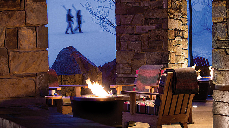 four seasons resort and residences jackson hole firepit