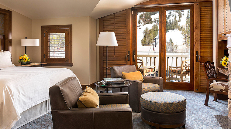 four seasons resort and residences jackson hole mountain view king room