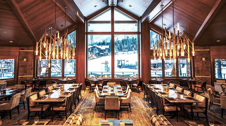 four seasons resort and residences jackson hole westbank grill
