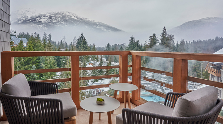 four seasons resort and residences whistler Panorama suite balcony