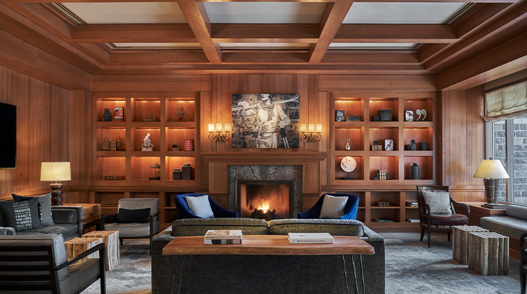 four seasons resort and residences whistler lobby library