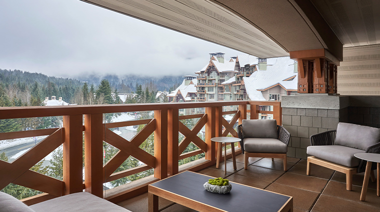 four seasons resort and residences whistler one bedroom premier