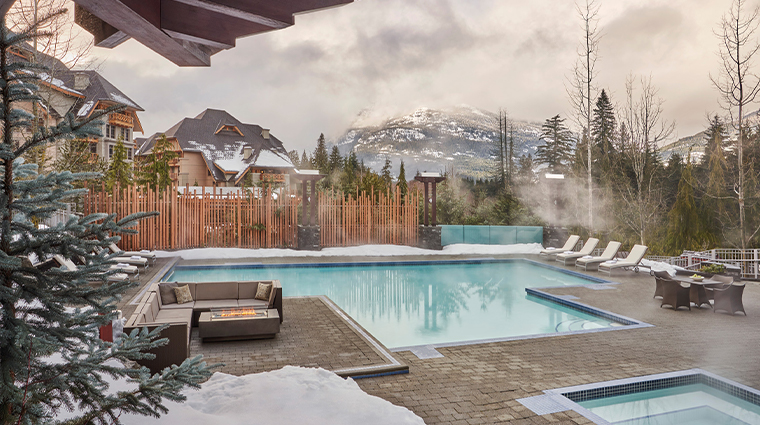 four seasons resort and residences whistler pool