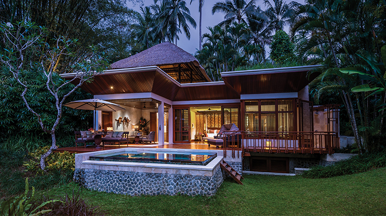 four seasons resort bali at sayan one bedroom villa