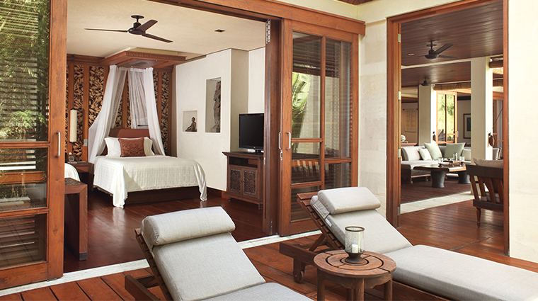 four seasons resort bali at sayan river view bedroom
