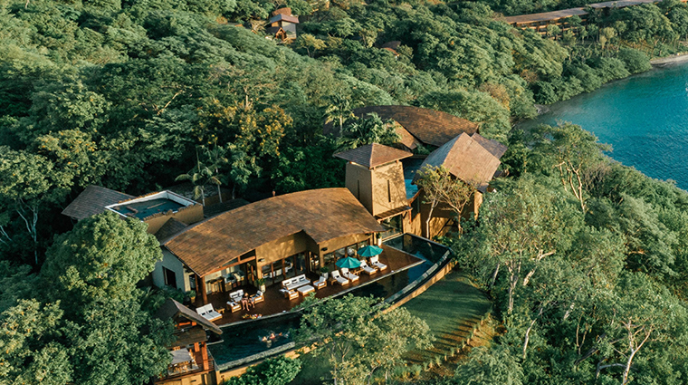 four seasons resort costa rica at peninsula papagayo aerial