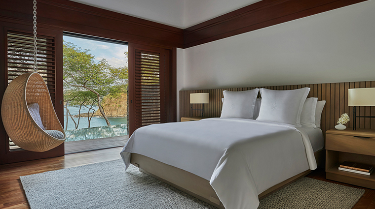 four seasons resort costa rica at peninsula papagayo guestroom and seat
