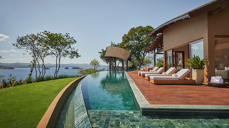 four seasons resort costa rica at peninsula papagayo loungers view