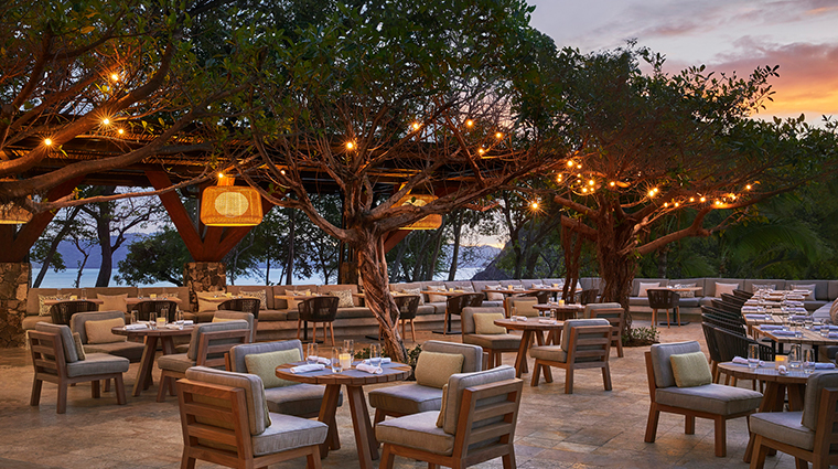 four seasons resort costa rica at peninsula papagayo outdoor dining