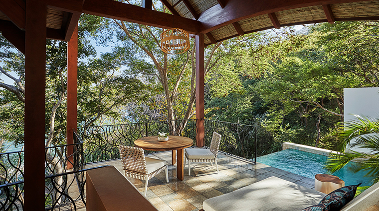 four seasons resort costa rica at peninsula papagayo pool and table