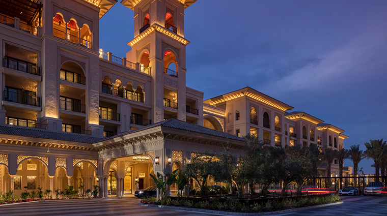 four seasons resort dubai at jumeirah beach exterior night