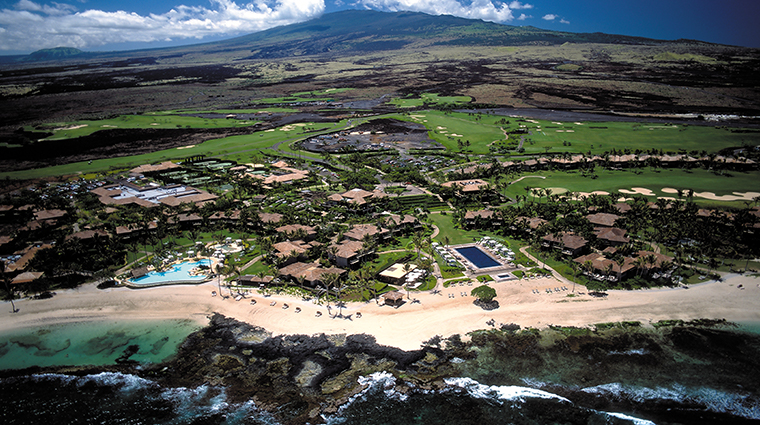 four seasons resort hualalai aerial
