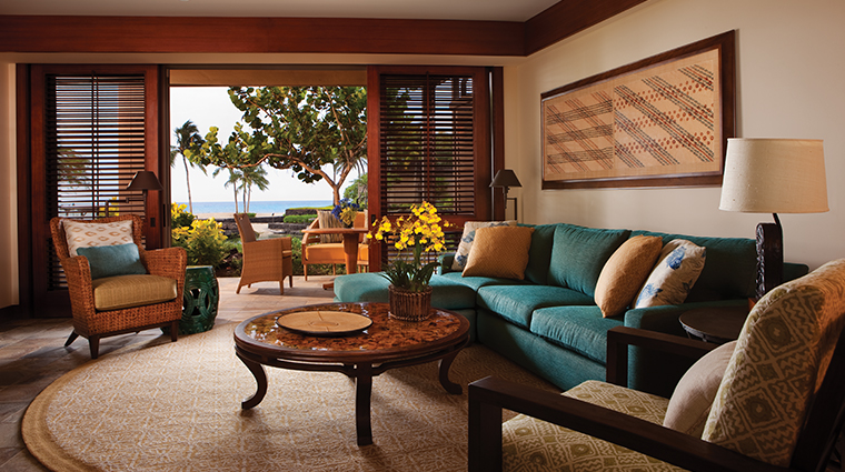four seasons resort hualalai living room