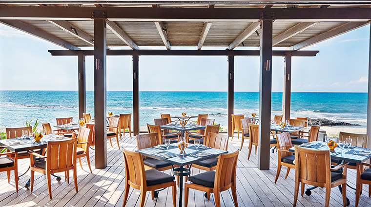 four seasons resort hualalai outdoor dining