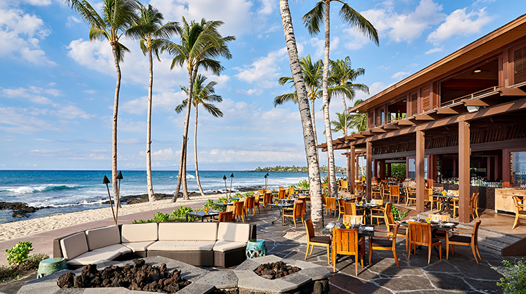 four seasons resort hualalai outdoor patio dining